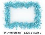 virtual paper frame  string... | Shutterstock . vector #1328146052