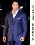 dwayne johnson arriving for the ... | Shutterstock . vector #132815108