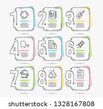 infographic template with... | Shutterstock .eps vector #1328167808