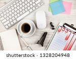 accounting. items for doing... | Shutterstock . vector #1328204948