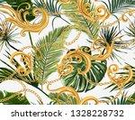 seamless tropical summer... | Shutterstock .eps vector #1328228732