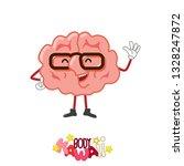 kawaii cute cartoon character... | Shutterstock .eps vector #1328247872