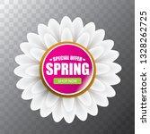 vector spring sale web banner... | Shutterstock .eps vector #1328262725