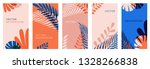 vector set of abstract... | Shutterstock .eps vector #1328266838