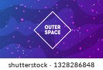 outer space background with... | Shutterstock .eps vector #1328286848