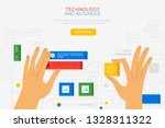 vector illustration in simple...   Shutterstock .eps vector #1328311322