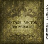 vintage vector background | Shutterstock .eps vector #132833372