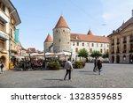 yverdon les bains  switzerland  ... | Shutterstock . vector #1328359685