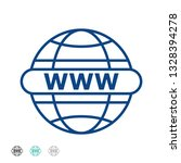 internet www icon  world wide... | Shutterstock .eps vector #1328394278