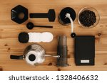 steel kettle  scale  filter ... | Shutterstock . vector #1328406632