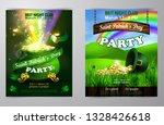 vector st. patrick s day poster ... | Shutterstock .eps vector #1328426618