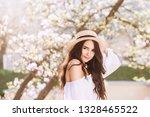outdoor close up portrait of...   Shutterstock . vector #1328465522