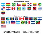 south america and north america ... | Shutterstock .eps vector #1328482235