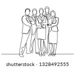continuous line drawing of... | Shutterstock .eps vector #1328492555