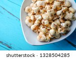 a bunch of popcorn | Shutterstock . vector #1328504285