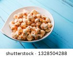 a bunch of popcorn | Shutterstock . vector #1328504288