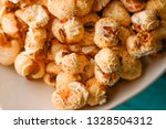 a bunch of popcorn | Shutterstock . vector #1328504312