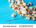 a bunch of popcorn | Shutterstock . vector #1328504342