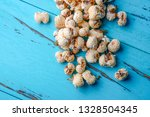 a bunch of popcorn | Shutterstock . vector #1328504345