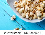 a bunch of popcorn | Shutterstock . vector #1328504348