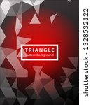 abstract triangle background.... | Shutterstock .eps vector #1328532122
