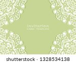 invitation or card template... | Shutterstock .eps vector #1328534138