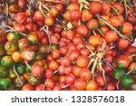Colorful Red Vivid Background Fresh - Fine Art prints