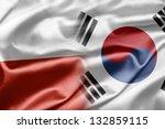 poland and south korea | Shutterstock . vector #132859115