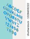 volume font  tape. linear  thin ...   Shutterstock . vector #1328603222
