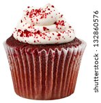 Red Velvet Cupckae With Red...
