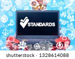 standards quality iso...   Shutterstock . vector #1328614088
