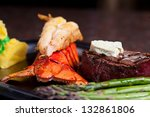 Fillet Mignon With Lobster Tail