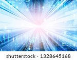 future network concept  graphic ... | Shutterstock . vector #1328645168