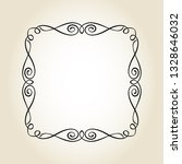 frame graceful antique.vector... | Shutterstock .eps vector #1328646032
