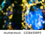 yellow blue bokeh background,space,univese,glitter,sparkle,blur blackground,out of focus,disco night ,cosmos,technology