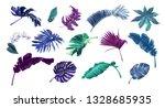 vector illustration set of... | Shutterstock .eps vector #1328685935