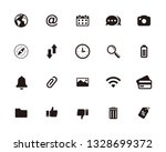 web  website icon set