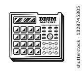 drum machine music producer... | Shutterstock .eps vector #1328745305