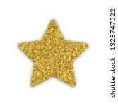 gold star with bland shadows... | Shutterstock .eps vector #1328747522