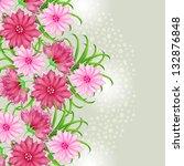 wedding card or invitation... | Shutterstock .eps vector #132876848