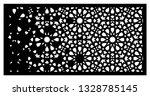 arabesque vector gradient panel....   Shutterstock .eps vector #1328785145