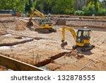 Construction Site Foundation...