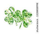 vector illustration of shamrock ... | Shutterstock .eps vector #1328808998