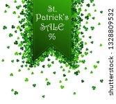 saint patrick's day vector... | Shutterstock .eps vector #1328809532