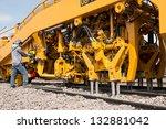 Maintenance Railway On Working