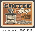 coffee house or coffeeshop and... | Shutterstock .eps vector #1328814392