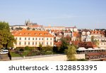 beautiful landscape of old city ... | Shutterstock . vector #1328853395