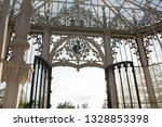 beautiful greenhouse building... | Shutterstock . vector #1328853398