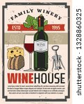 family winery store or grand... | Shutterstock .eps vector #1328860325