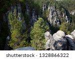 landscape park with rocks at... | Shutterstock . vector #1328866322